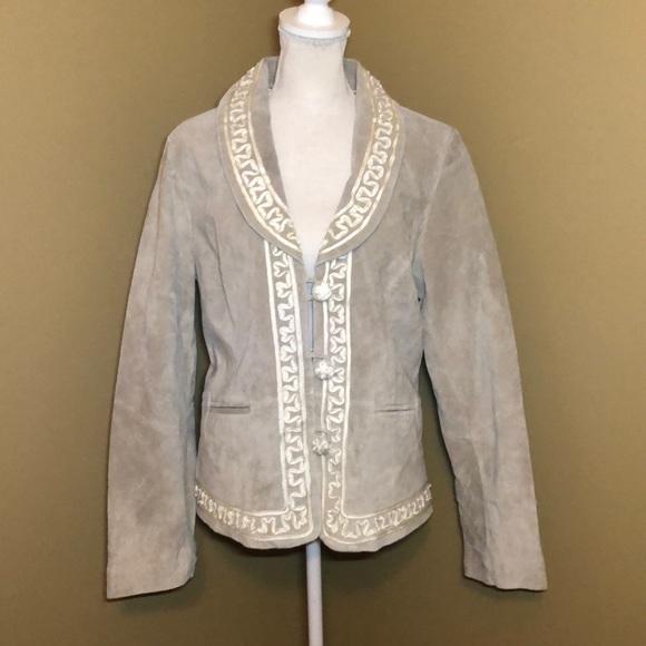 bradley bayou Jackets & Blazers - NWOT Bradley by Bradley Bayou suede jacket